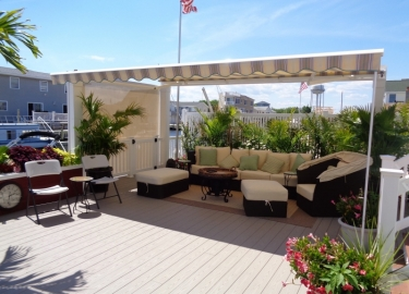 Free Standing Retractable Awnings Heading